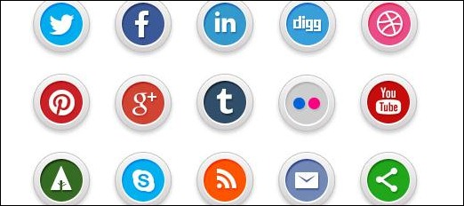 Nice-and-modern-round-icons