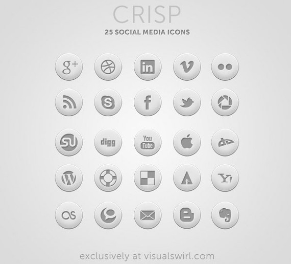 crisp-social-media-icons