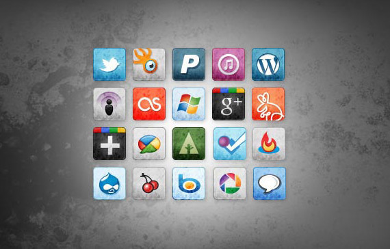 stained-faded-free-social-media-icons